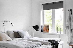verduisterend rolgordijn slaapkamer