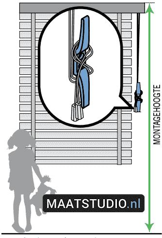 Kindveilige raamdecoratie