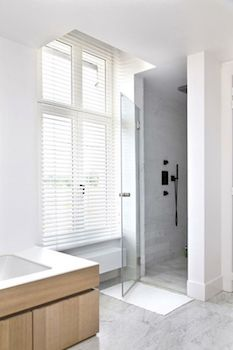 aluminium jaloezieen badkamer