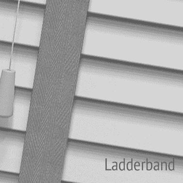 jaloezie met ladderband