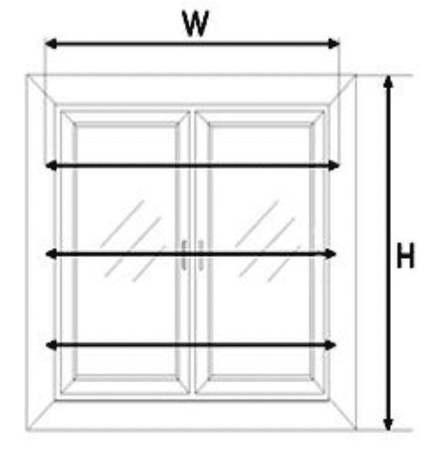 advies raam opmeten raamdecoratie
